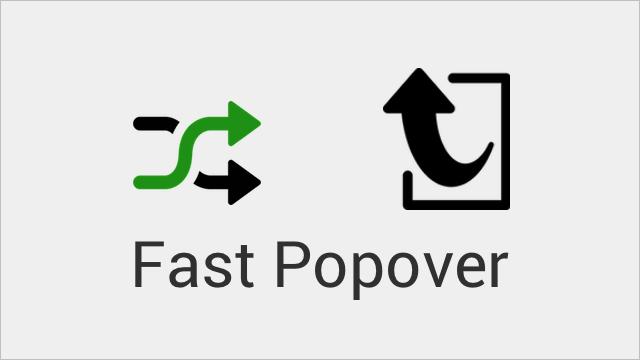Fast-Popover
